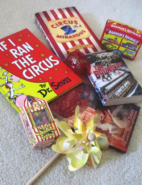 0418 National Animal Cracker Day, circus books
