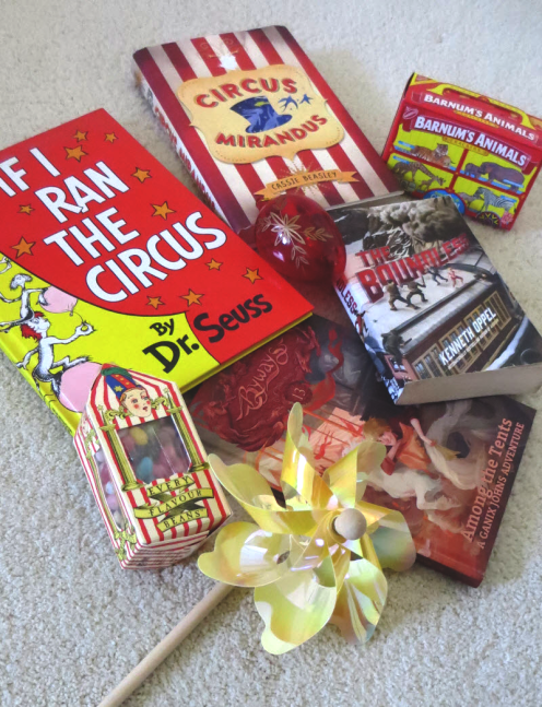 0418 National Animal Cracker Day, circus books
