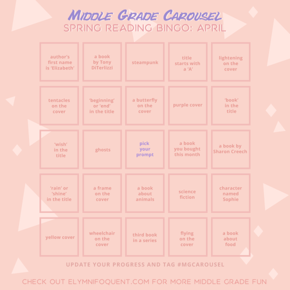 Spring Reading Bingo: April Edition