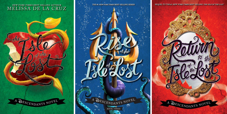 Books 1-3 of the Descendants series by Melissa de la Cruz