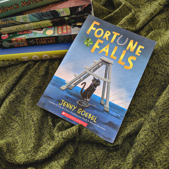 Bookstagram photo featuring Fortune Falls by Jenny Goebel