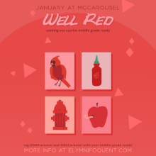 January at Middle Grade Carousel: Well Red