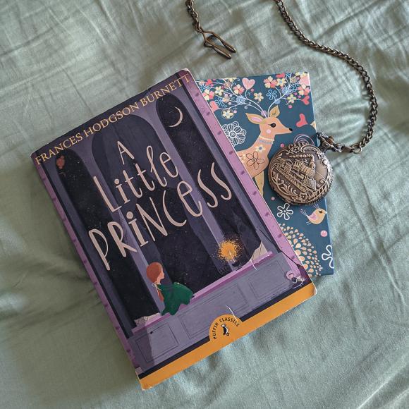 Bookstagram photo featuring A Little Princess by Frances Hodgson Burnett