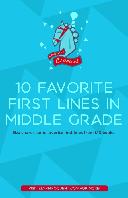 10 Favorite First Lines in Middle Grade