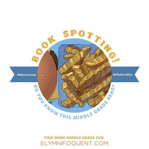 Book Spotting: can you guess which Middle Grade cover this is taken from?