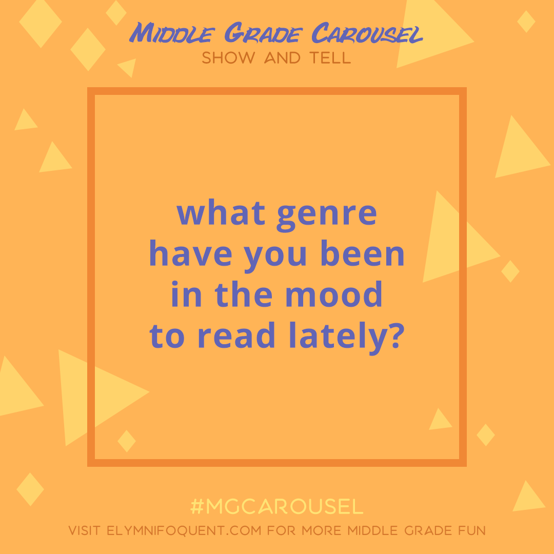 Show & Tell: what genre have you been in the mood to read lately?