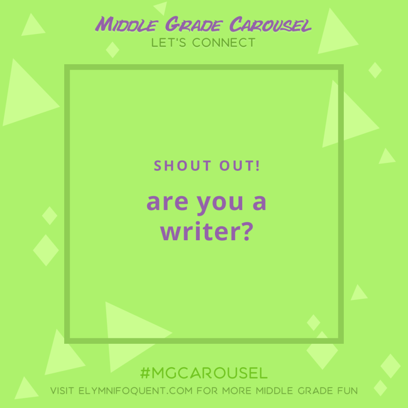 Let's Connect: are you a writer?