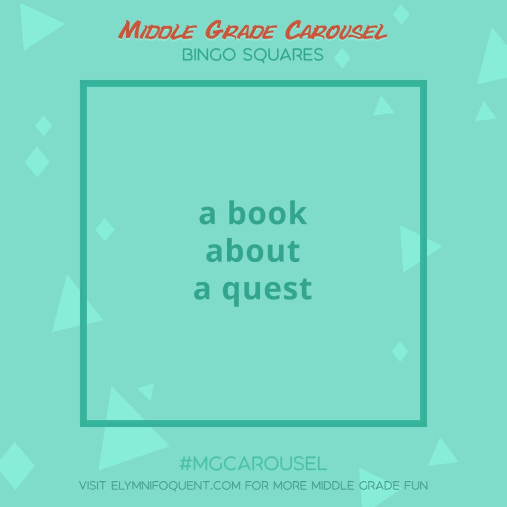 Bingo Squares: a book about a quest