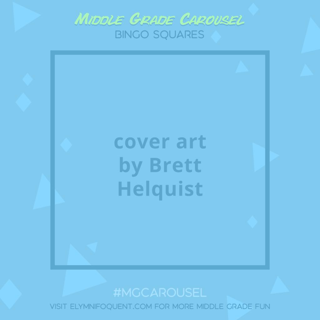Bingo Squares: cover art by Brett Helquist