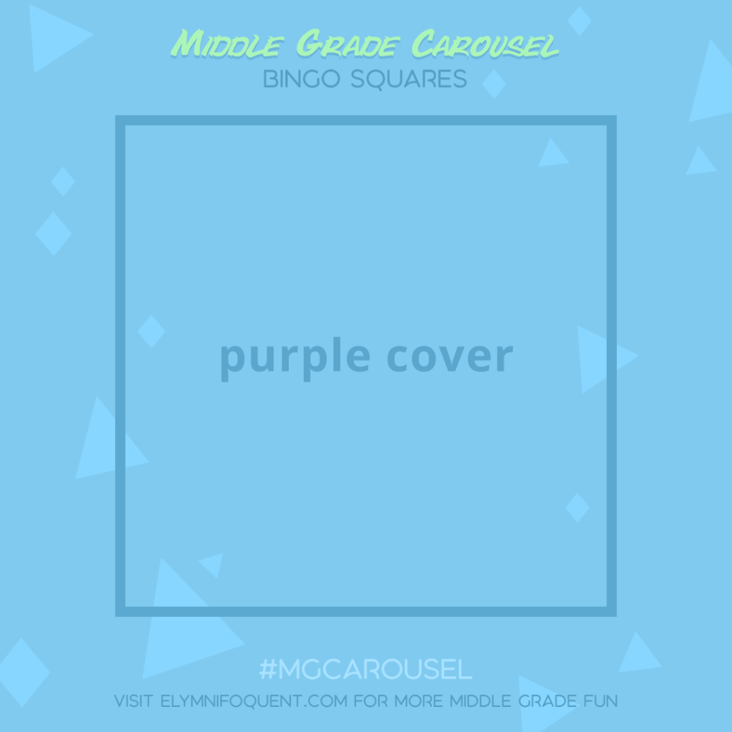 Bingo Squares: purple cover