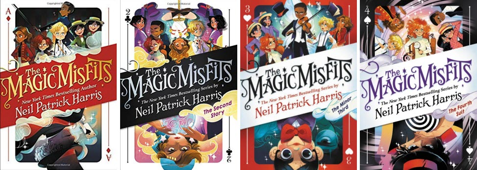 The Magic Misfits series by Neil Patrick Harris