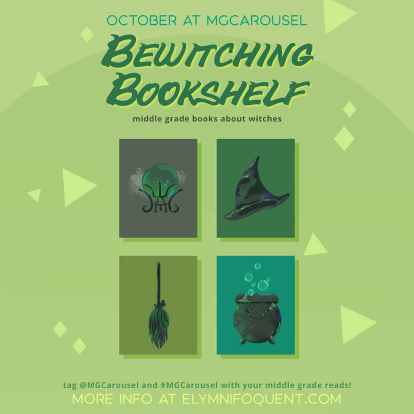 October at Middle Grade Carousel: Bewitching Bookshelf