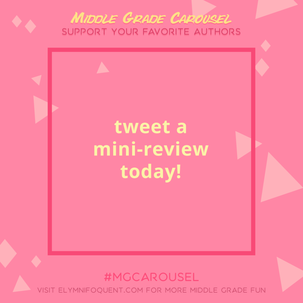 Support an Author: tweet a mini-review today!