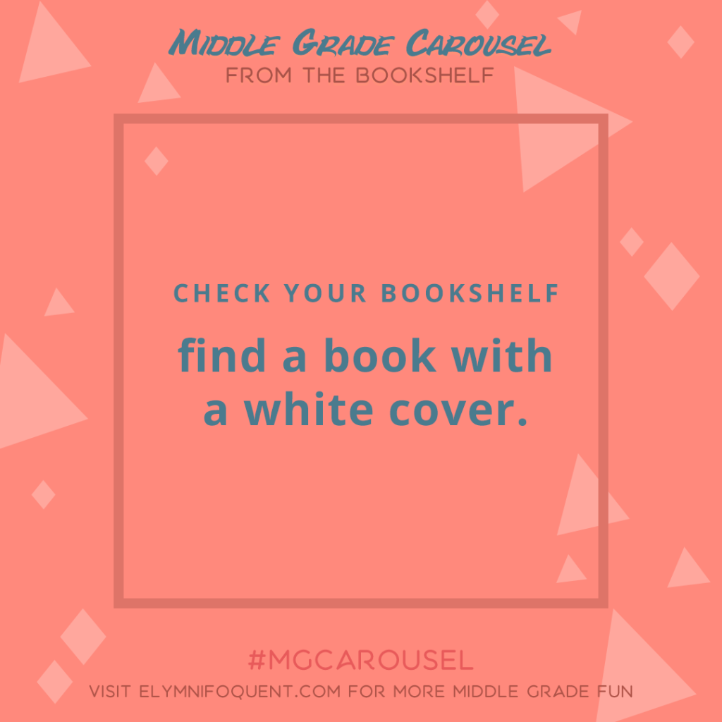 From the Bookshelf: find a book with a white cover