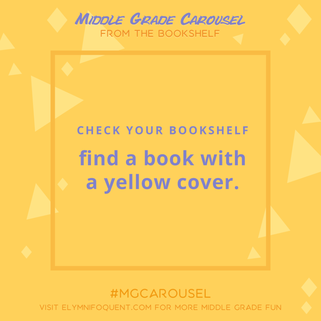 From the Bookshelf: find a book with a yellow cover