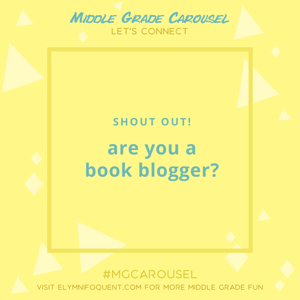 Let's Connect: are you a book blogger?