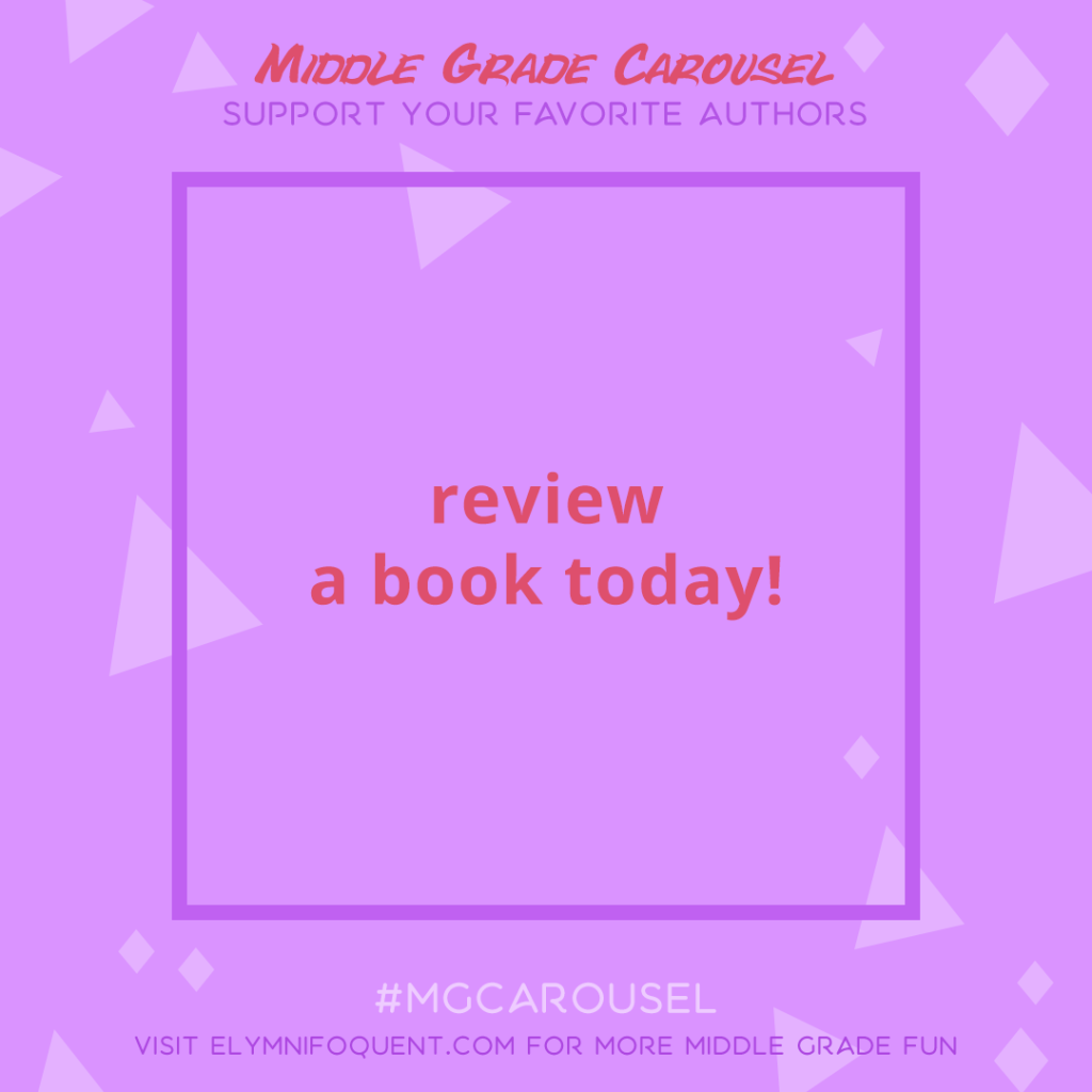 Support an Author: review a book today