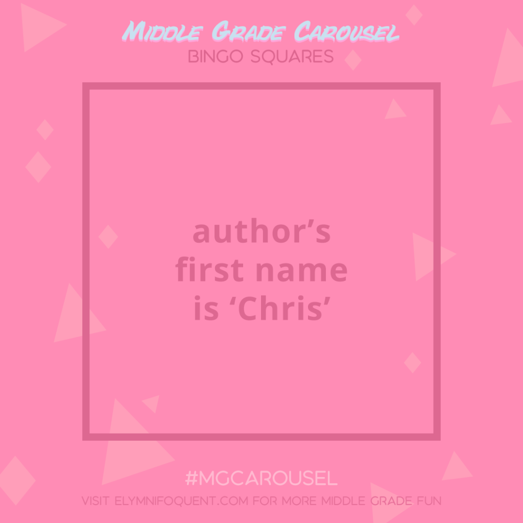 Bingo Squares: author's first name is 'Chris'
