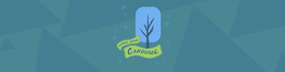 Header for December at Middle Grade Carousel