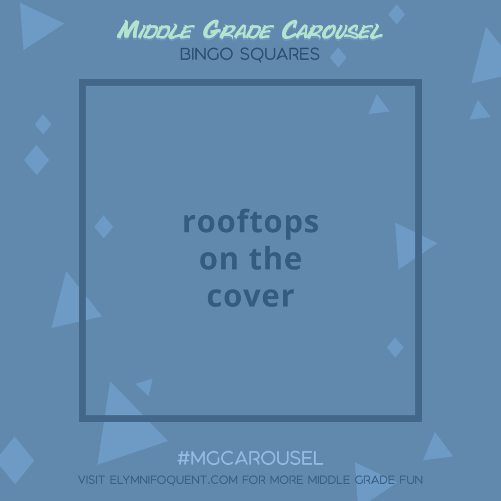 Bingo Squares: rooftops on the cover