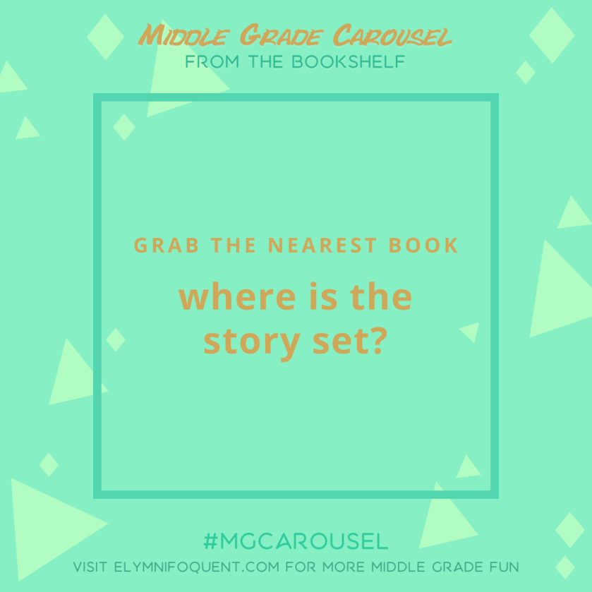 From the Bookshelf: where is the story you're currently reading set?