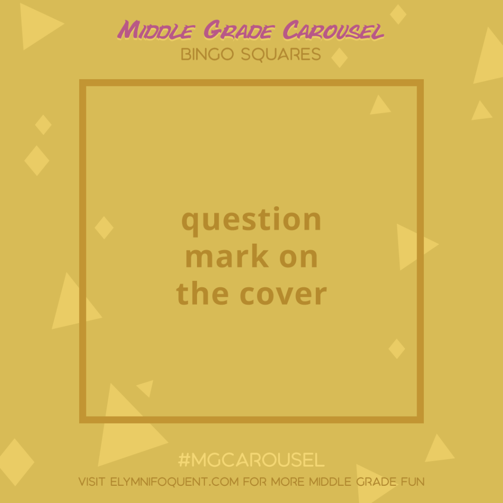 Bingo Squares: question mark on the cover