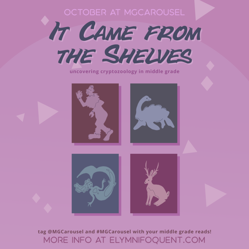October at Middle Grade Carousel: It Came from the Shelves
