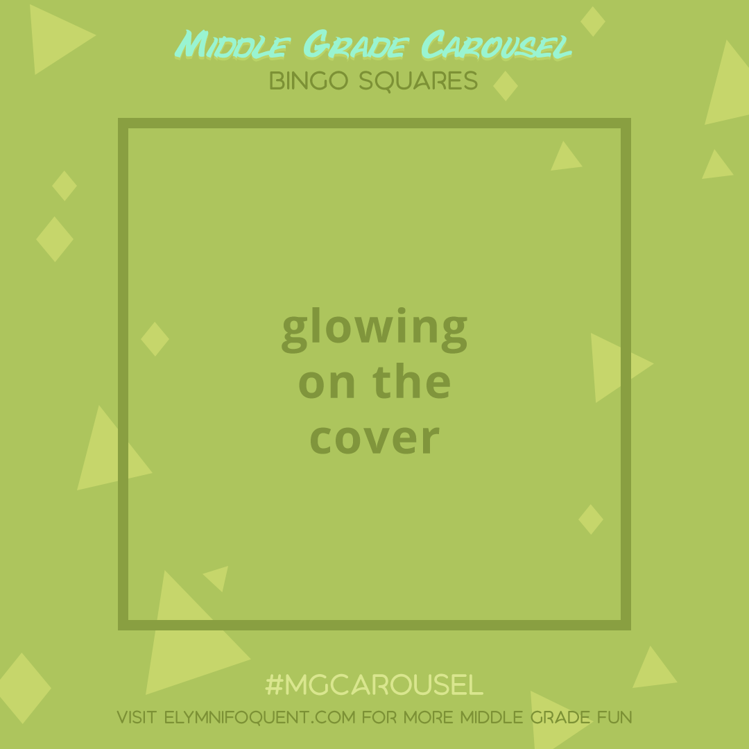 Bingo Squares: glowing on the cover