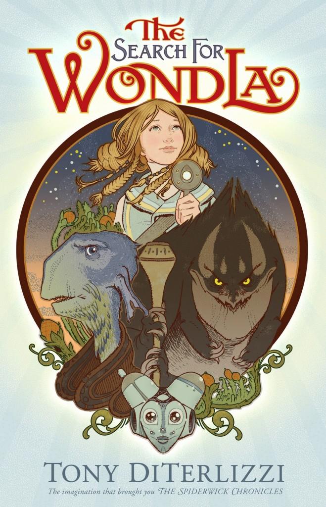 The Search for Wondla by Tony DiTerlizzi